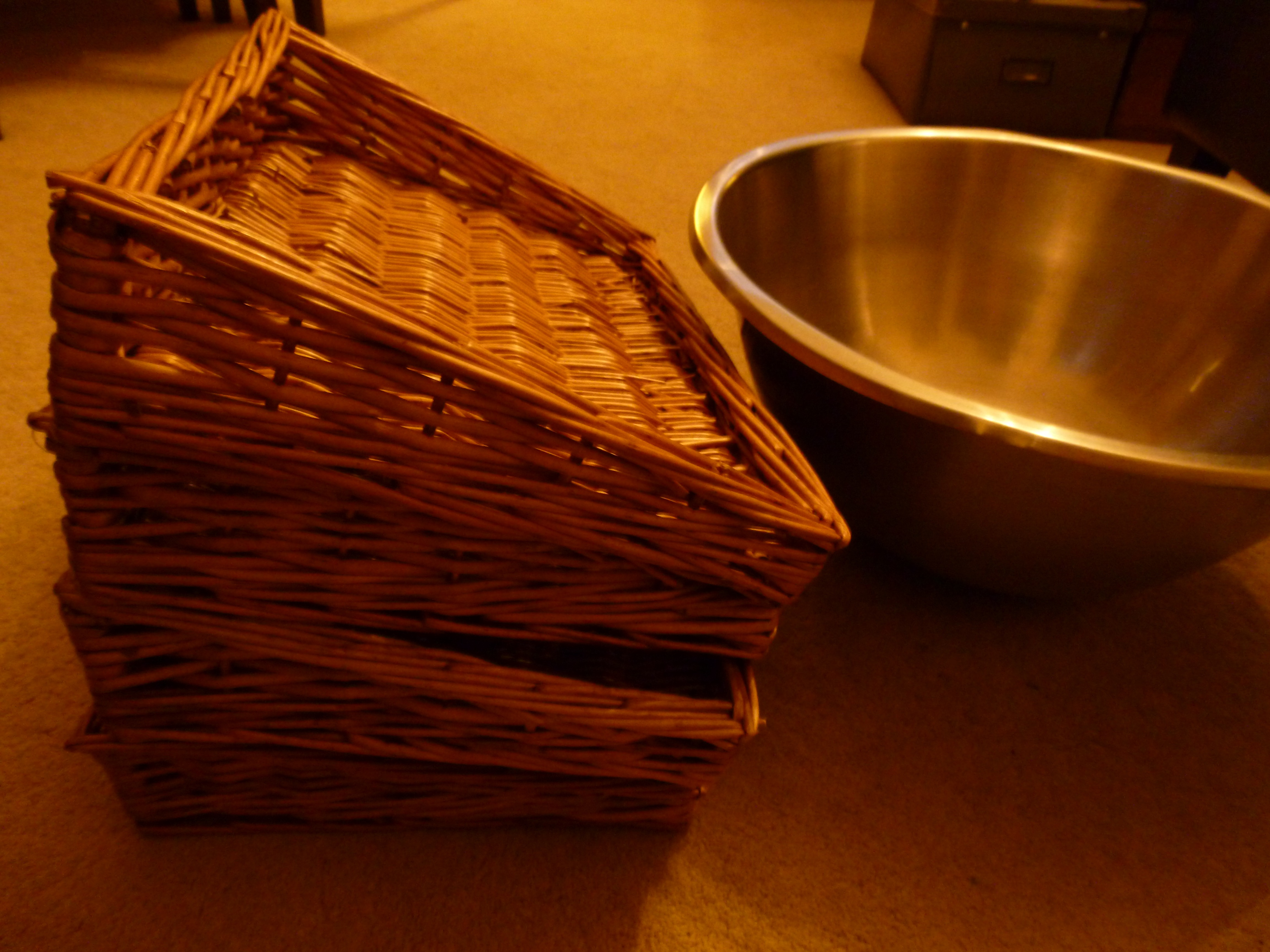 Baskets for my boulangerie