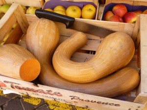 Butternut squash - buy as much as you need - no food waste here